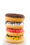 Pile of doughnuts Royalty Free Stock Photo