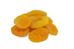 Pile of dried apricots, dried fruit Stock Photo
