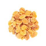 Pile of dried apricots isolated Stock Photo