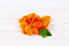 Pile of dried apricots Stock Photography