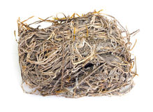 A pile of dried laminaria Royalty Free Stock Photography
