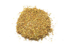 Pile of dried oregano Royalty Free Stock Images