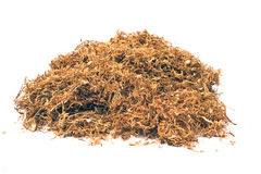 Pile of dried tobacco Royalty Free Stock Photo