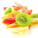 Pile of dried tropical fruits Stock Photography
