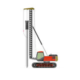 Pile driver Royalty Free Stock Photography