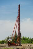 Pile-driver-03 Stock Image