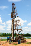 Pile driver Royalty Free Stock Image