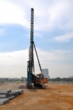 Pile-driving Rig Stock Images