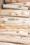 Pile Of Dry Firewood. Royalty Free Stock Image