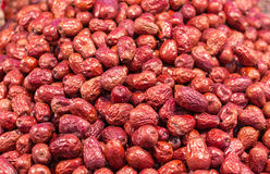 Pile Of Dry Red Dates Stock Image