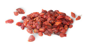 Pile Of Dry Rosehip Fruit Stock Photos