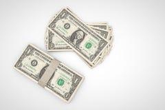 Pile du dollar Image stock