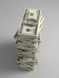 pile du dollar de factures illustration stock