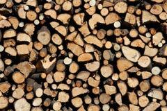 Pile du feu coupé Image libre de droits