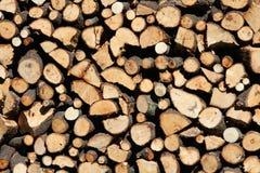 Pile du feu coupé Photographie stock libre de droits