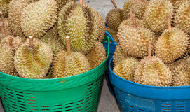 Pile of durian Royalty Free Stock Images