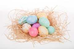 Pile of Easter Eggs Stock Photography