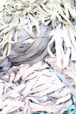 Pile of Elastic fabrics Royalty Free Stock Photo