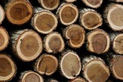 Pile en bois Photographie stock libre de droits