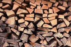 Pile en bois Image libre de droits