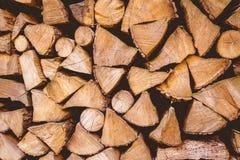Pile en bois photographie stock
