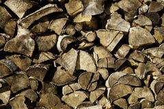 Pile en bois abstraite photo stock