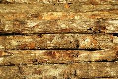 Pile en bois empilée Photos stock