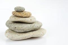 Pile en pierre Images libres de droits