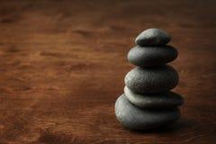 Pile en pierre Image libre de droits
