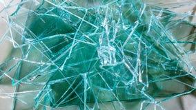 Pile en verre cassée Photos libres de droits