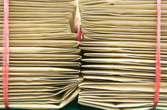 Pile envelop Stock Photos