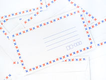 A pile of envelope Royalty Free Stock Photography
