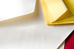 A pile of envelopes Royalty Free Stock Images
