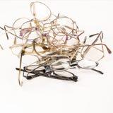 Pile of eye glasses Stock Images