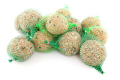 Pile of Fat balls for birds Stock Photo