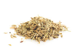 Pile of Fennel Seeds Stock Photography