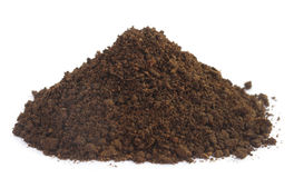 Pile of fertile soil Royalty Free Stock Image
