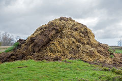 Pile of Fertilizer Royalty Free Stock Photography