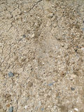A Pile of Fill Dirt Soil With Cracks. Royalty Free Stock Photos