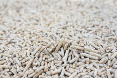 Pile of fir pellets Stock Photography