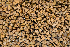 Pile of firewood. Image of firewood stacked up for later use Stock Photos