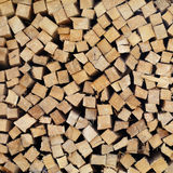 Pile of firewood Stock Image