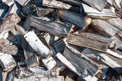 Pile of firewood Royalty Free Stock Photography