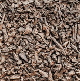 Pile Firewood close-up. Slivers. Texture chips Royalty Free Stock Photography