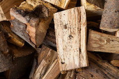 A pile of firewood. Stock Images
