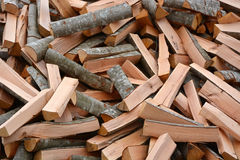 Pile of the firewoods Royalty Free Stock Images