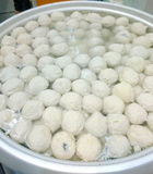 pile of fish balls Royalty Free Stock Images