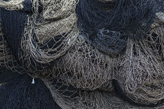 Pile of Fishing Nets Stock Image