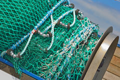A pile of fishing nets Stock Photography
