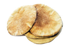 Pile of flatbread Stock Photos